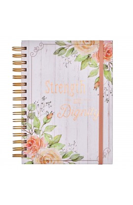 Spiral Journal w/ Elastic Strength & Dignity