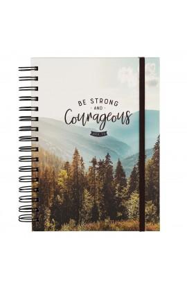 Spiral Journal w/ Elastic Courageous