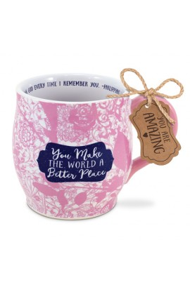 Ceramic Mug Pretty Prints A Better Place