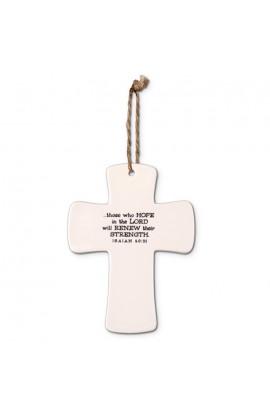 Cross Ceramic God's Promises Strength