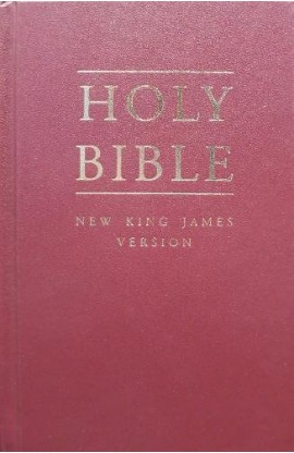 ENGLISH BIBLE NKJV043 SYNTHETIC CLOTH BURGUNDY