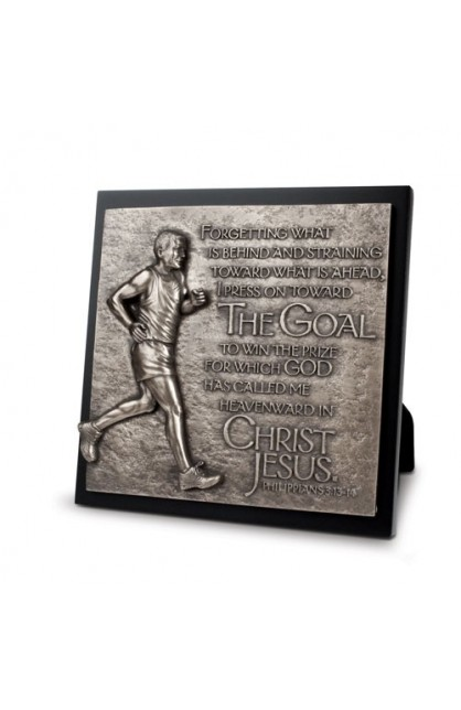 RUNNER PLAQUE SCULPTURE