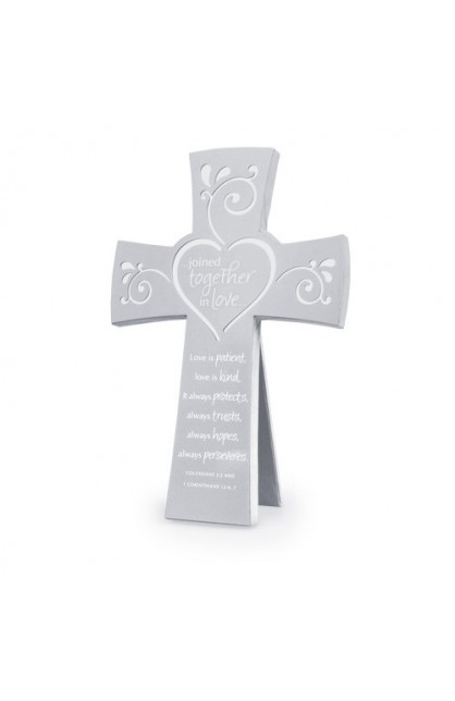 JOINED TOGETHER IN LOVE DESKTOP WALL CROSS