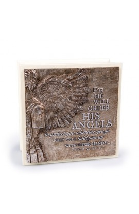 HIS ANGELS CREAM BOX SCULPTURE