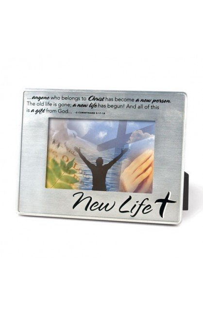 NEW LIFE SILVER FRAME