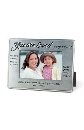 YOU ARE LOVED SILVER FRAME