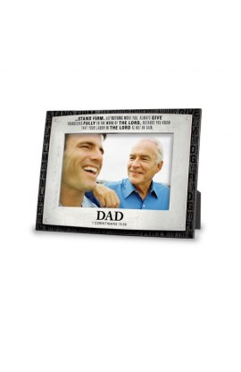 DAD BADGE OF FAITH FRAME