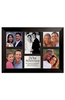 20TH ANNIVERSARY MULTI PHOTO FRAME