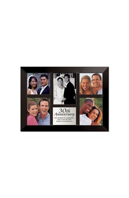 30TH ANNIVERSARY MULTI PHOTO FRAME