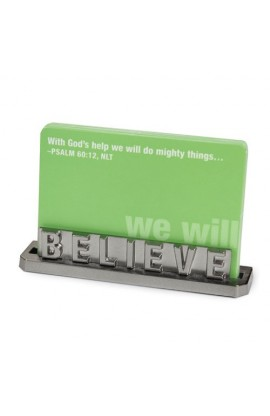 BELIEVE CARD HOLDER