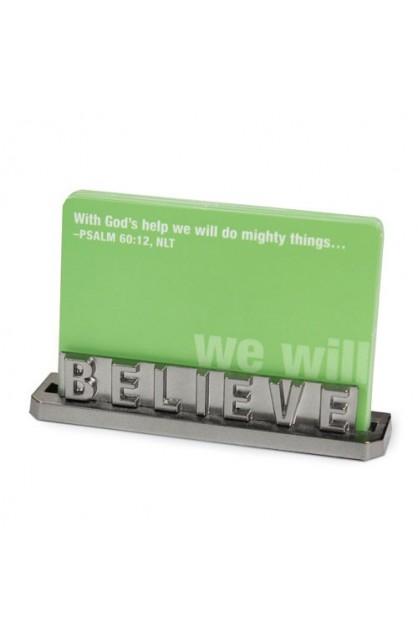 BELIEVE CARD HOLDER
