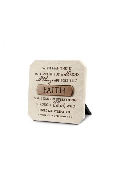 FAITH RESIN PLAQUE