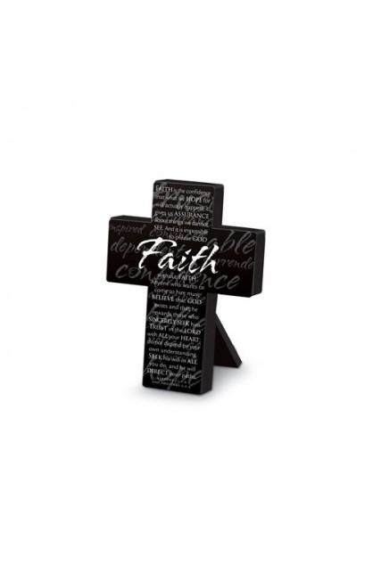 FAITH MINI METAL CROSS