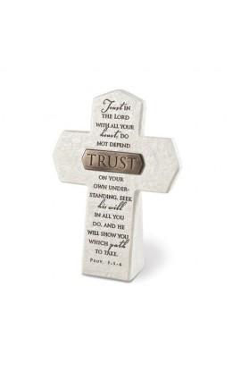 Cross Desktop Resin Bronze Title Bar Trust