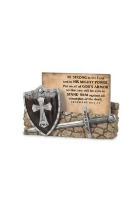 WORD OF GOD ARMOR OF GOD SCRIPTURE CARDS HOLDER