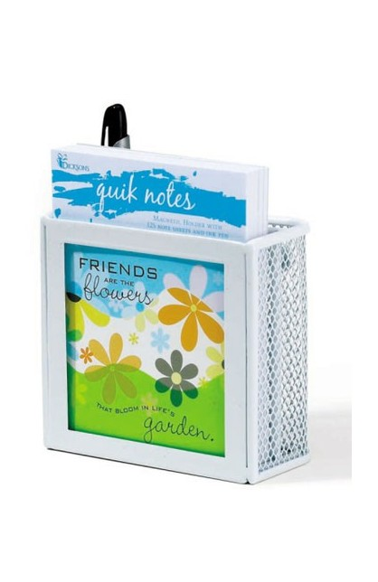 FRIENDS/FLOWER QUIK NOTE WHITE