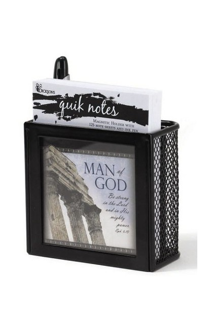MAN OF GOD QUIK NOTE BLACK
