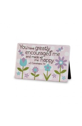 GREATLY ENCOURAGED DOTS PLAQUE