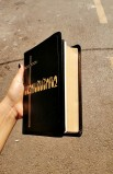 ARMENIAN BIBLE LEATHER GILT EDGED M47