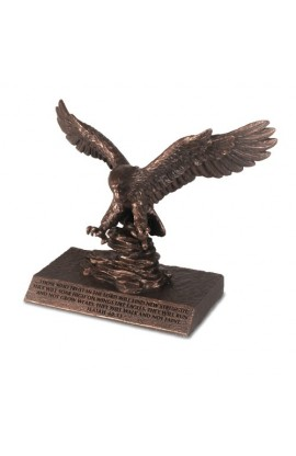 PRAYER EAGLE SMALL SCULPTURE
