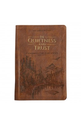 In Quietness and Trust Faux Leather