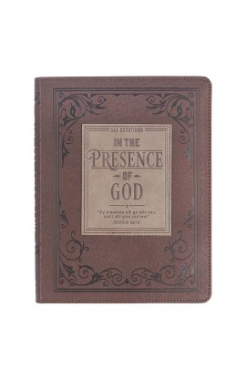 In the Presence of God Faux Leather