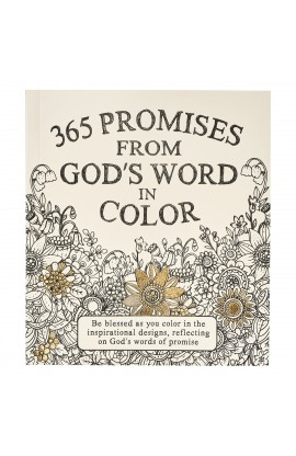 Gift Book Softcover 365 Promises God's Word in Color