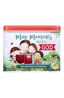 Prayer Cards in Tin Mini Moments with God