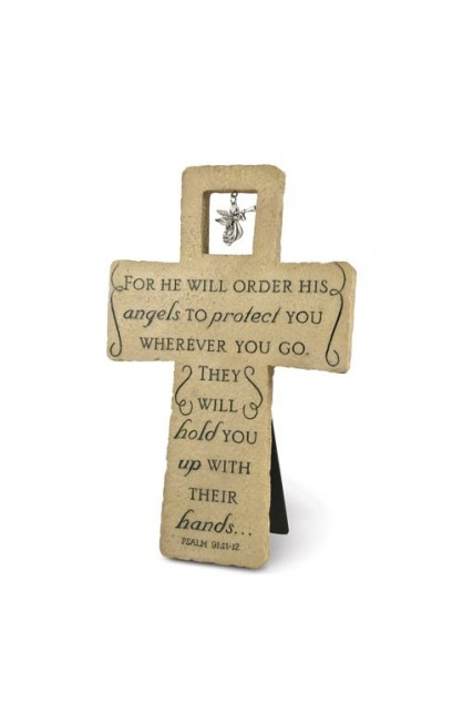 PROTECT YOU LARGE RESIN CROSS