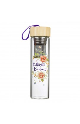 Water Bottle Glass Infuser Cultivate Kindness