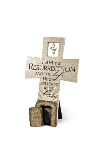 RESURRECTION SCULPTURE CROSS