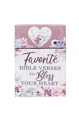 Box of Blessings Favorite Bible Verses To Bless the Heart