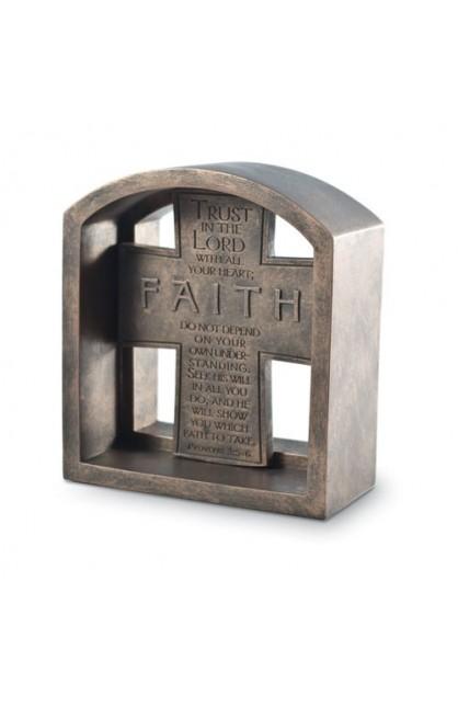 FAITH PLAQUE END