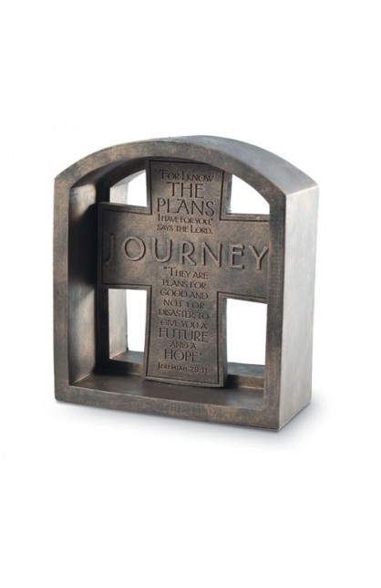 JOURNEY PLAQUE END