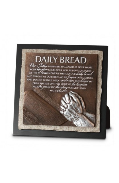 DAILY BREAD SCULPTURE PLAQUE
