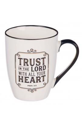 Mug Ceramic Trust in the Lord Prov 3:5
