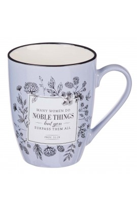 Mug Ceramic Many Women Do Noble Things Prov 31:29