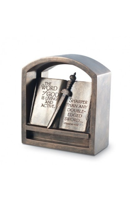 WORD OF GOD PLAQUE END