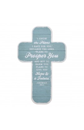Cross Bookmark I Know the Plans Jer 29:31