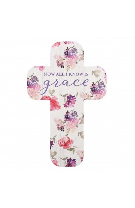 Cross Bookmark Now I Know Grace