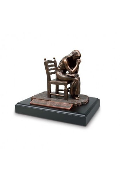 Sculpture Moments of Faith Praying Woman