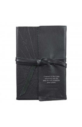 Journal Wrap Leather Commit to the Lord