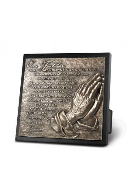 THE LORD'S PRAYER PLAQUE