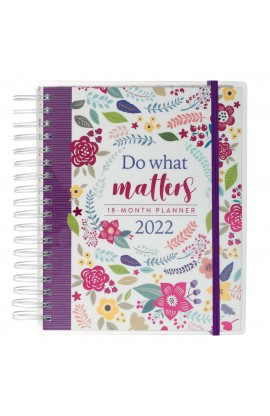 2022 18 Month Planner Do What Matters