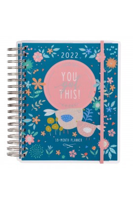 2022 18 Month Planner You Got This