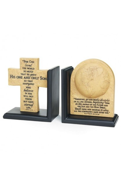 GREAT COMMISSION BOOKENDS