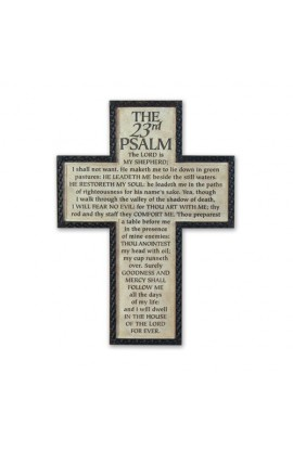 PSALM 23 XL WALL CROSS