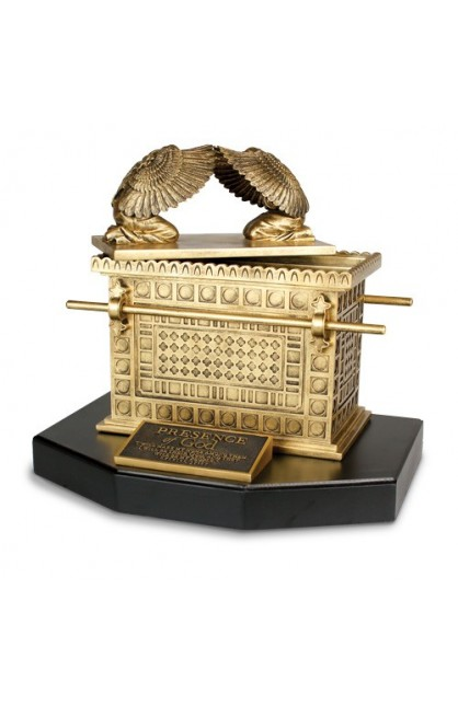 Sculpture Moments of Faith XL Ark of the Covenant