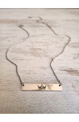 KING OF KINGS BAR NECKLACE