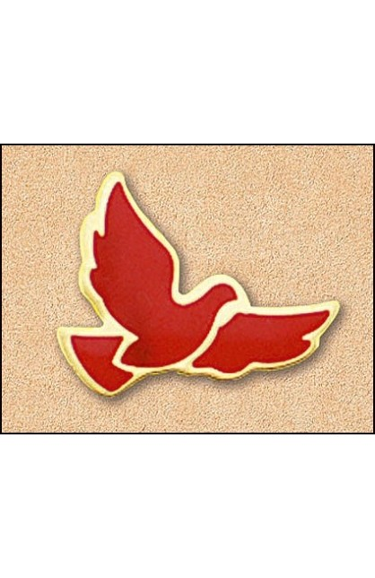 RED DOVE LG PIN